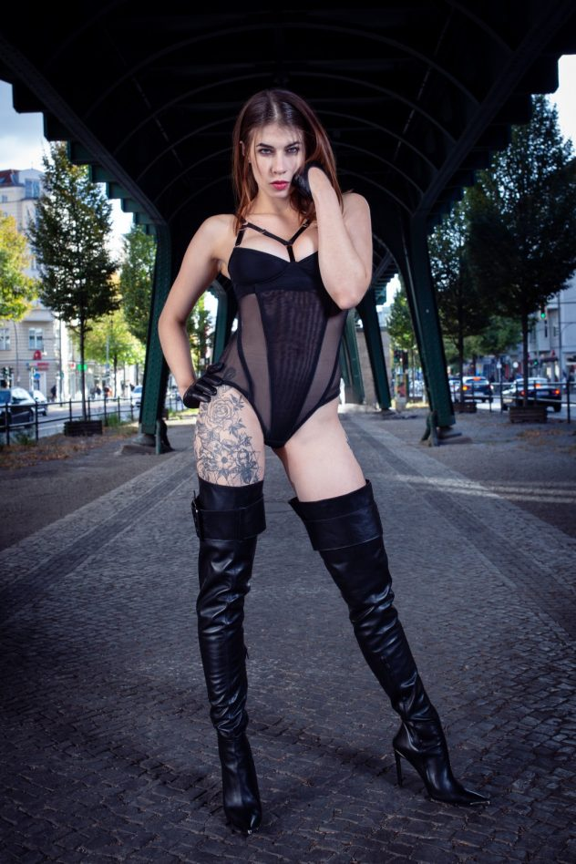 Avantgardista Fetish Fashion Fernando Berlin Boots Lingerie