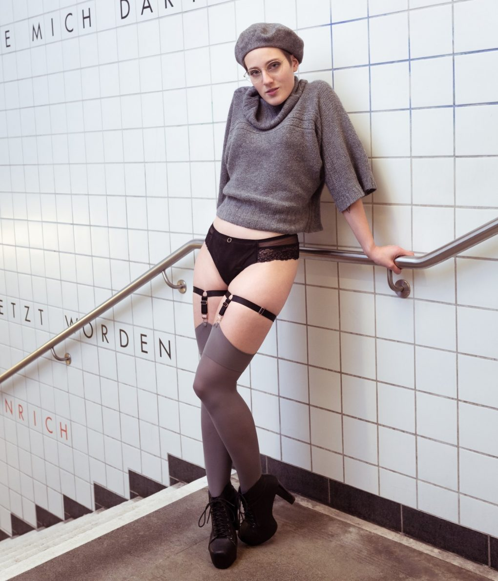 No Pants Subway Ride 2019 Berlin Suspenders Brazilian